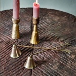 Stag Brass Candle Snuffer by Nkuku