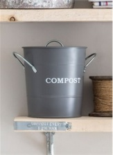 Compost bin in Charcoal by Garden Trading