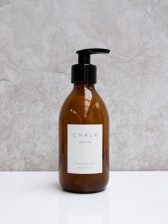 Amber Glass Hand & Body Lotion Lime&Herb by ChalkUK