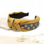 Mustard & Teal Spot Headband by Peace Of Mind