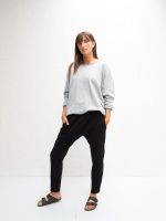Robyn Jersey Pants Black by ChalkUK