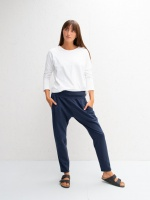 Robyn Jersey Pants Navy by ChalkUK