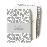 Songbird Grey Softback Exercise Books by Hinchcliffe and Barber