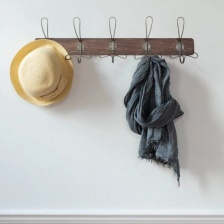 Vintage Style Coat Rack by Grand Illusions