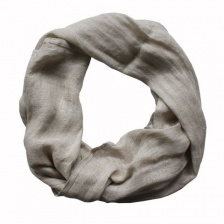 Pure natural linen, boxed scarf by Biggie Best