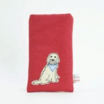Doodle Dog Phone Case by Poppy Treffry