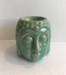 Turquoise Buddha Head Burner,  by Freckleface Home Fragrance