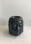 Navy Blue Buddha Head Burner, by Freckleface Home Fragrance