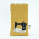 Sewing Phone Case by Poppy Treffry
