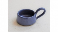 Blue, Stoneware Tea Light Holder