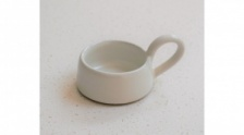 Milk White, Stoneware Tea Light Holder