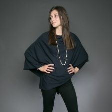 Tilley Poncho Navy