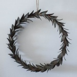 Wreath of Leaves Vintage Finish by Grand Illusions